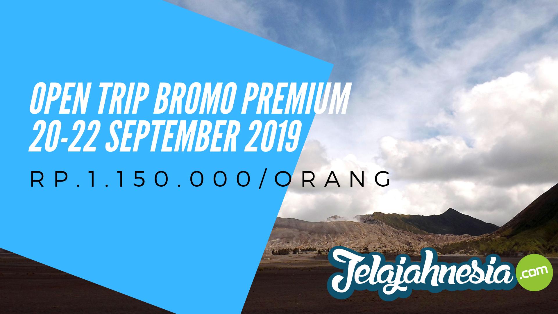 Open Trip Bromo Premium